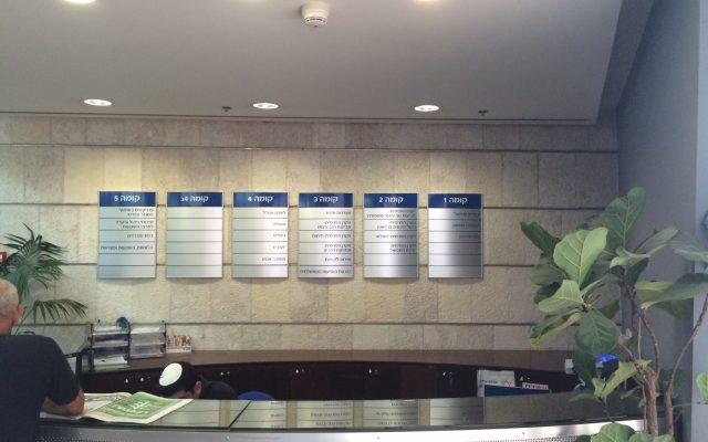 שלטים לבטיחות והכוונה במשרדים וחנויות