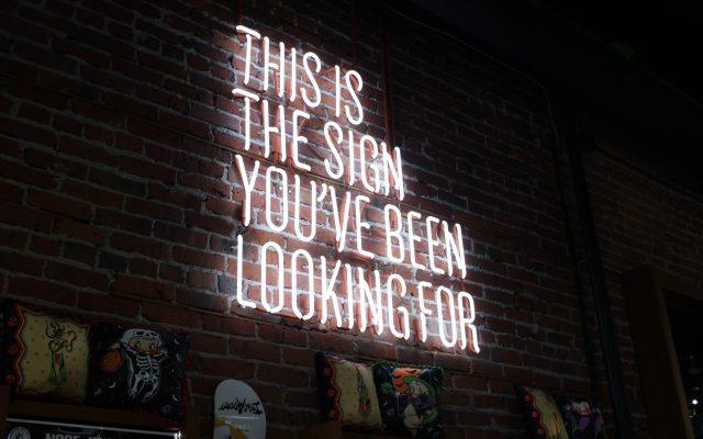 שלטי ניאון – אפשרויות תאורה שלא נגמרות